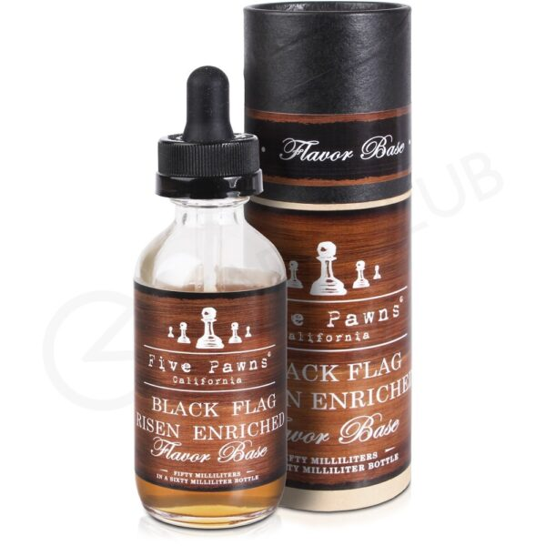Five Pawns Shake & Vape Premium Black Flag Risen Enriched - Vaping Services