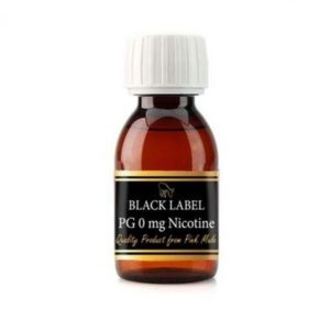 Black Label 100% PG 100 ml - Vaping services