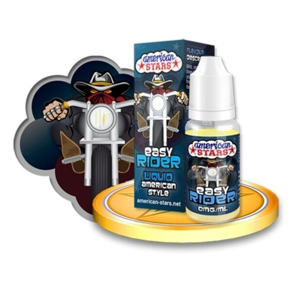American Stars 10 ml Easy Rider - Vaping Services