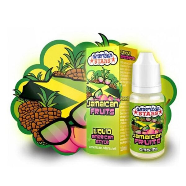 American Stars 10 ml Jamaican Fruits - Vaping Services