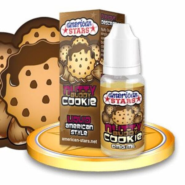American Stars 10 ml Nutty Buddy Cookie - Vaping Services
