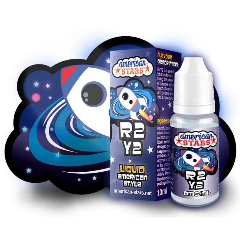 American Stars 10 ml R2Y2 - Vaping Services