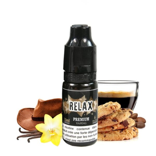 Eliquid France 10 ml Relax - Vaping Services