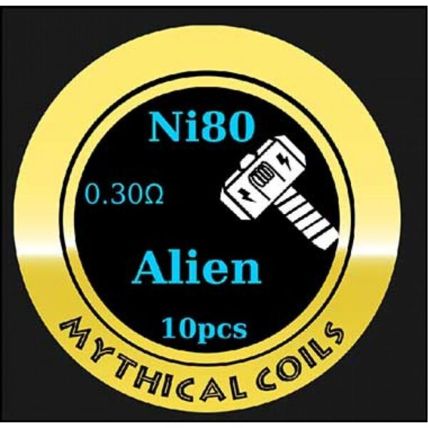 Mythical Vapers Alien Ni80 - Vaping Services
