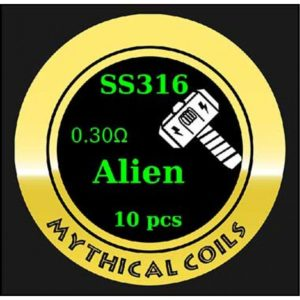 Mythical Vapers Alien SS316 - Vaping Services