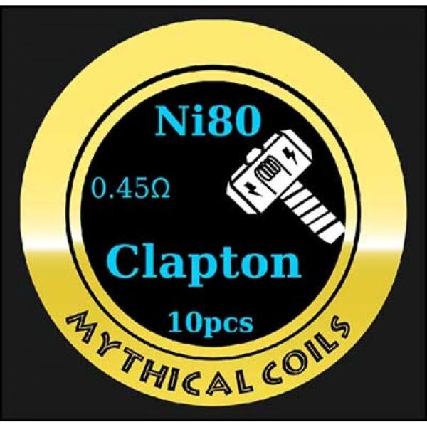 Mythical Vapers Clapton Ni80 - Vaping Services