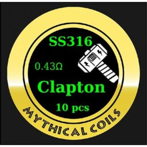 Mythical Vapers Clapton SS316 - Vaping Services
