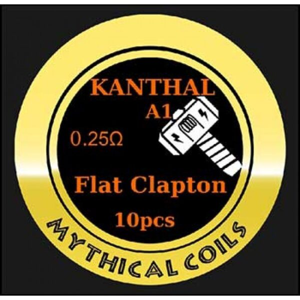 Mythical Vapers Flat Clapton Kanthal - Vaping Services