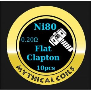 Mythical Vapers Flat Clapton Ni80 - Vaping Services