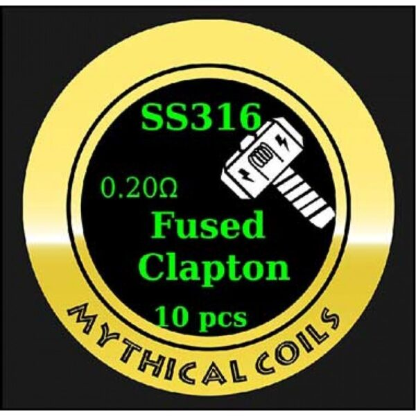 Mythical Vapers Fused Clapton SS316 - Vaping Services