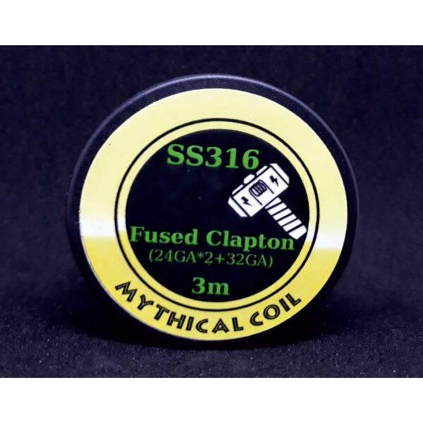 Mythical Vapers Fused clapton ss316 σύρμα - Vaping Services