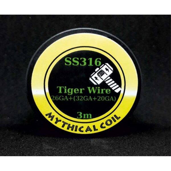 Mythical Vapers Tiger ss316 σύρμα - Vaping Services