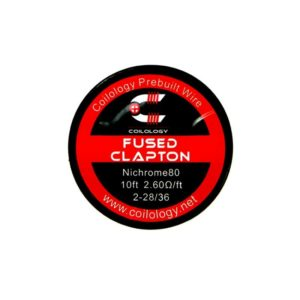Coilology Ni80 Fused Clapton 3m - Vaping Services