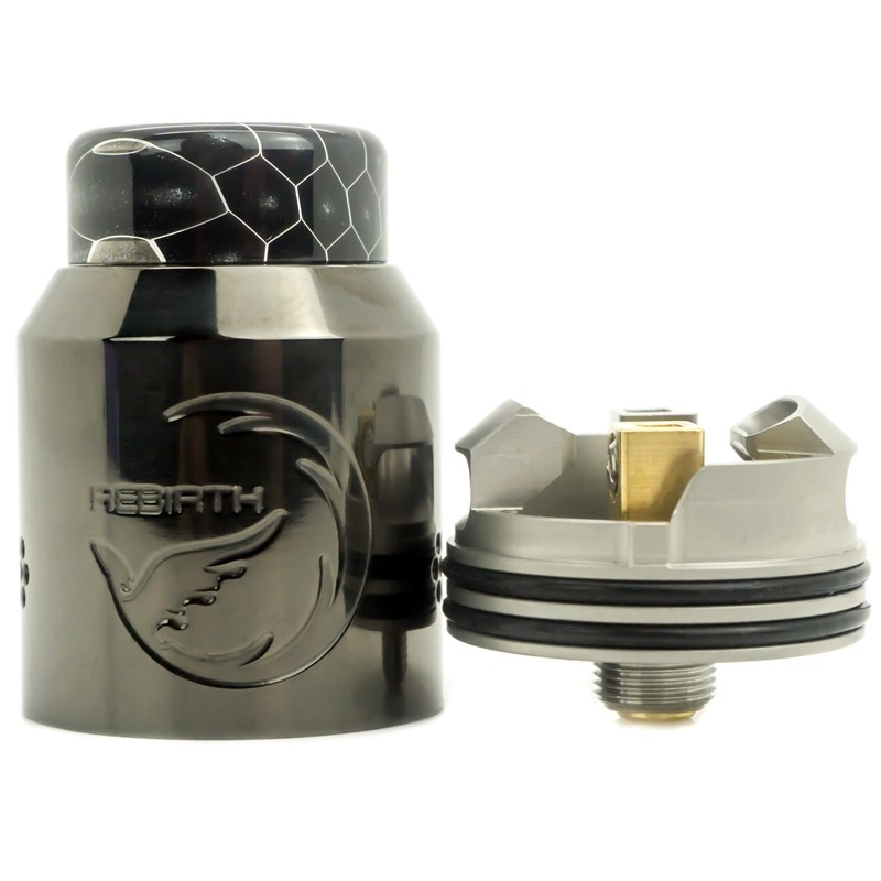 Hellvape Rebirth Rda gun metal - Vaping Services