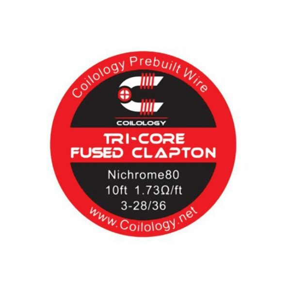 Coilology Ni80 Tri-core fused clapton 3m - Vaping Services