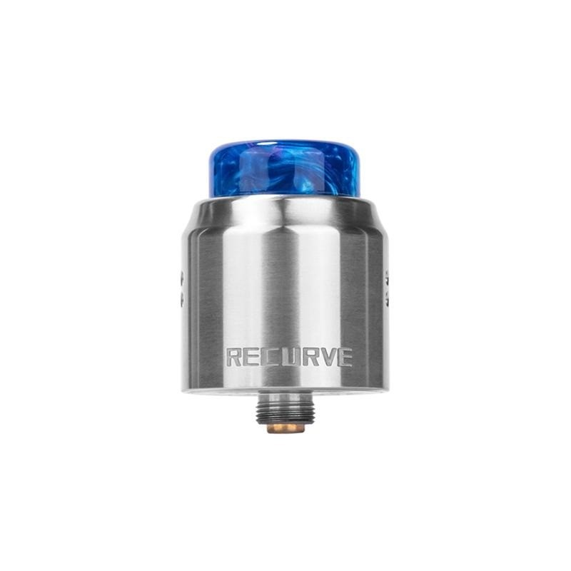 Wotofo Recurve Dual RDA Stainless Steel - Vaping Services