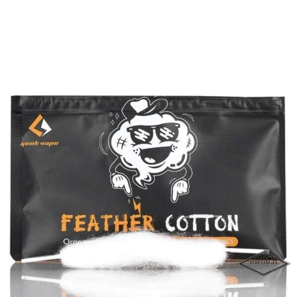 Οργανικό βαμβάκι Geekvape feather cotton - Vaping Services