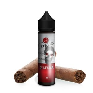 3Baccos Havana Shortfill (50 for 75mL) - Vaping Services