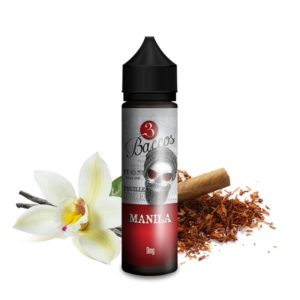 3Baccos Manilla Shortfill (50 for 75mL) - Vaping Services
