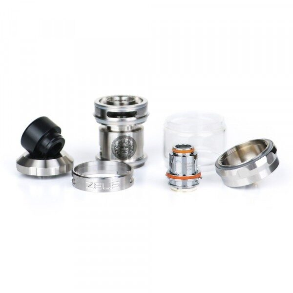 Geekvape Zeus SubOhm Tank stainless steel - Vaping Services