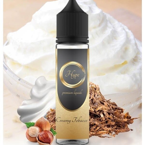 Hype Shake & Vape Creamy Tobacco (20 for 60mL) - Vaping Services