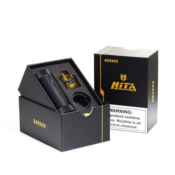Asvape Hita Mech pod kit Black - Vaping Services